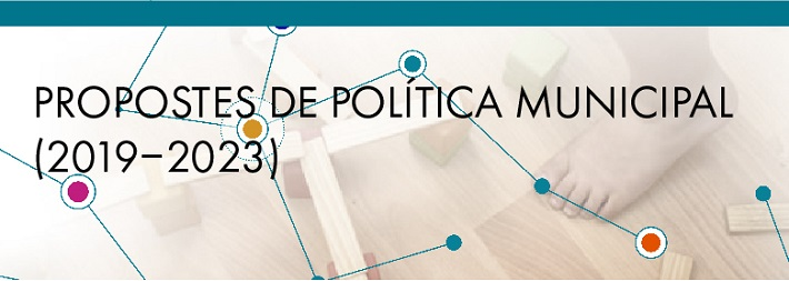 Debatem les propostes de política municipal. Inscriu-te!