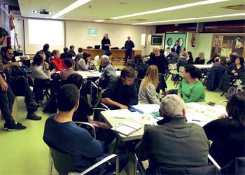Primera trobada d'ajuntaments de Barcelona adherits a l'Aliança