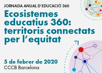 Connexions per l'equitat, eix de la Jornada Anual d'Educació 360. Inscriu-t'hi!