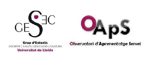 Observatori d'Aprenentatge Servei (ApS) i Aprenentatge Compromès amb la Comunitat (ACC). Grup d'Estudis Societat, Salut, Educació i Cultura (GESEC) de la Universitat de Lleida